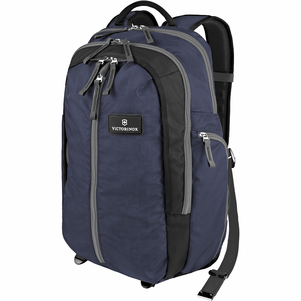 Vertical-Zip Laptop Backpack