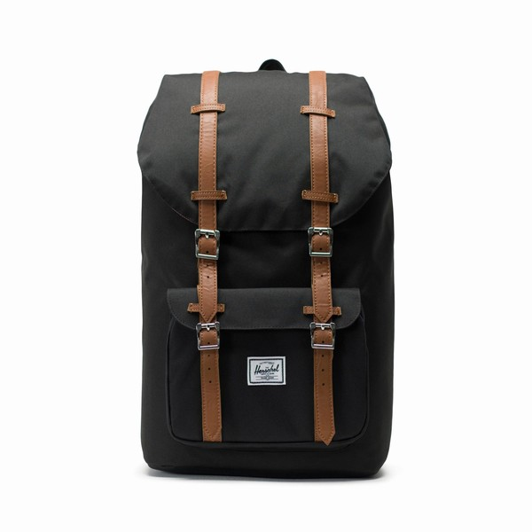 batoh Herschel Supply LITTLE AMERICA Black/Tan