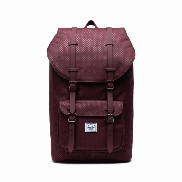 burgundy batoh Little America Herschel Supply