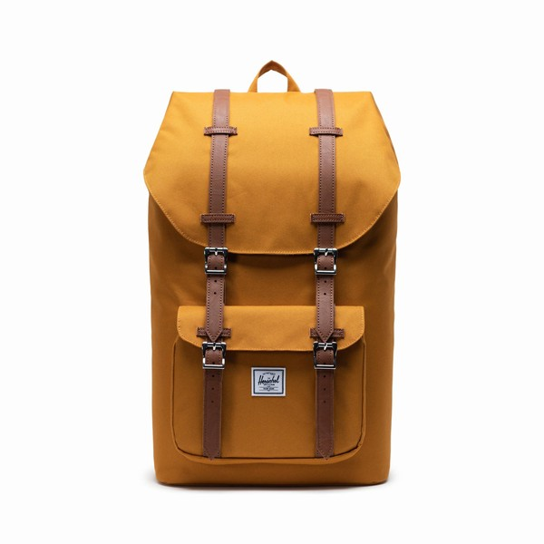 hnědý batoh Herschel Supply LITTLE AMERICA BUCKTHORN BROWN
