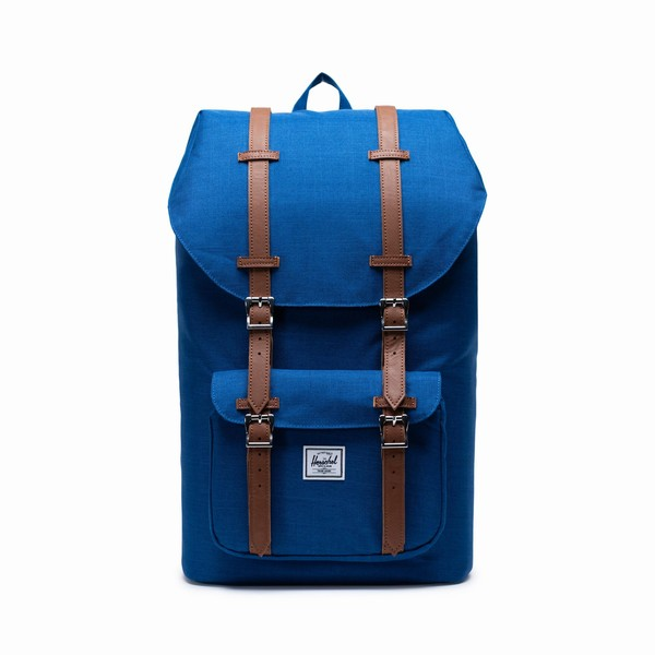 Herschel Supply LITTLE AMERICA MONACO BLUE CROSSHATCH
