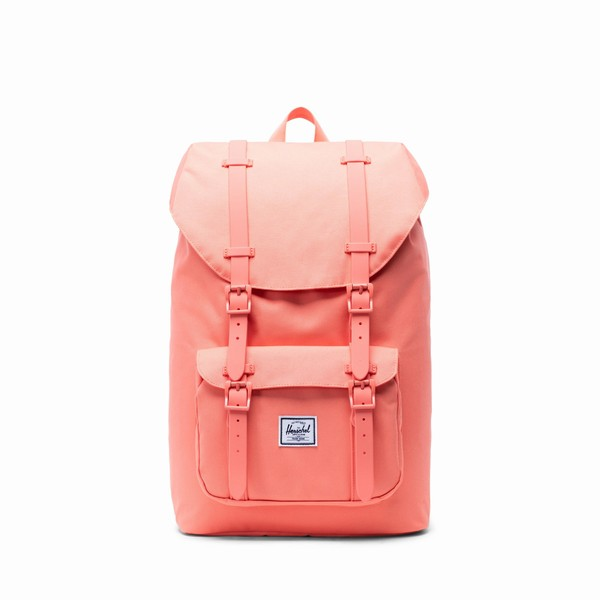 batoh Herschel Supply LITTLE AMERICA MID-VOLUME Salmone
