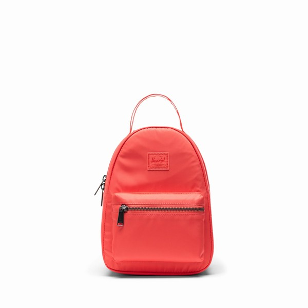 batoh Herschel Supply NOVA MINI SATIN HOTCORAL