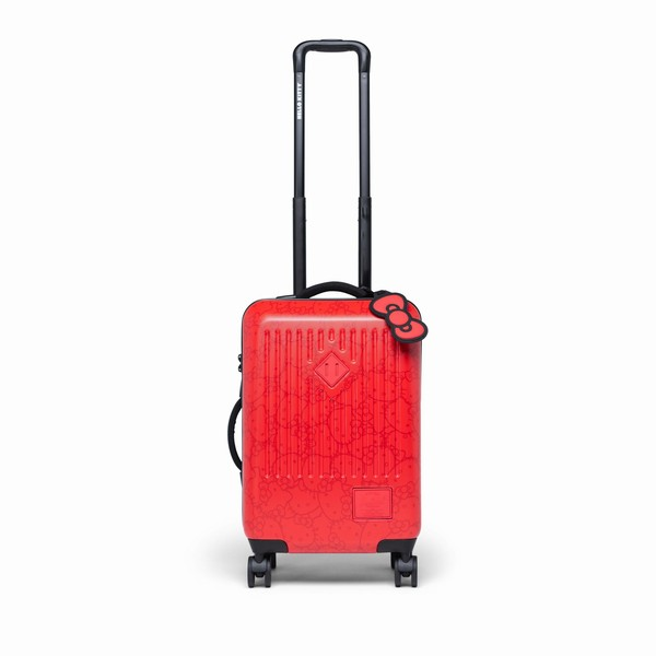 kufr Herschel Supply TRADE SMALL HELLO KITTY Red