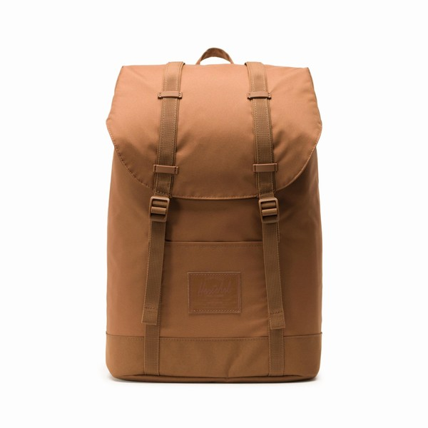 batoh Herschel Supply RETREAT LIGHT Saddle Brown
