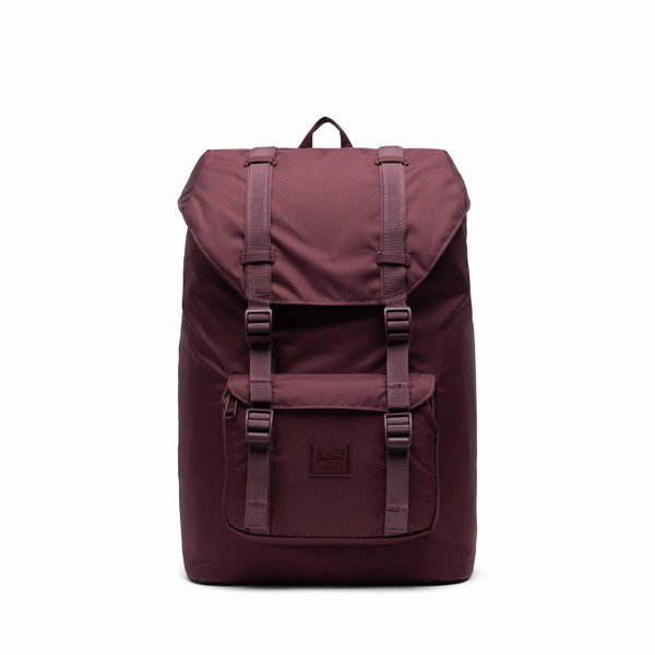 Herschel Supply LITTLE AMERICA MID-VOLUME LIGHT Plum