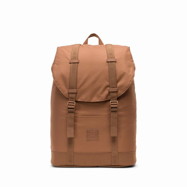 batoh Herschel Supply RETREAT MID-VOLUME LIGHT Saddle Brown