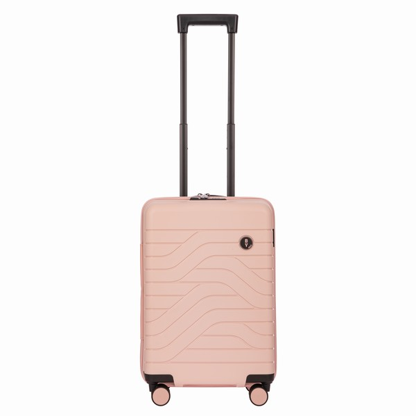 kabinovka Bric's B|Y ULISSE CARRY-ON TROLLEY růžová 37l