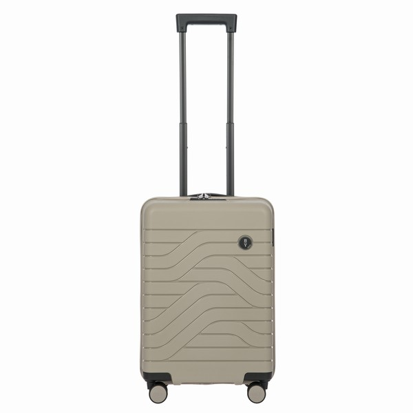 kabinovka Bric's B|Y ULISSE CARRY-ON TROLLEY béžová 37l