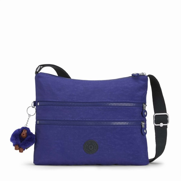 modrá crossbody Kipling Alvar Summer Purple