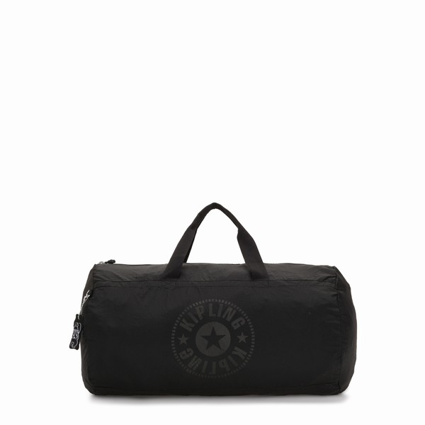 taška Kipling ONALO PACKABLE LIGHT BLACK