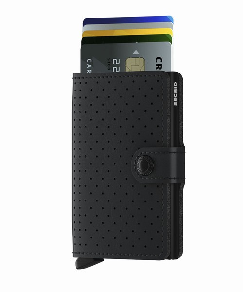 Secrid Miniwallet Perforated Black
