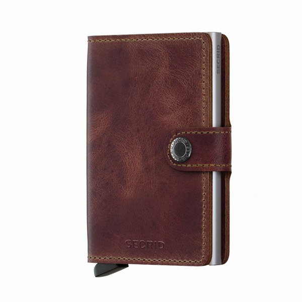 MINIWALLET BROWN