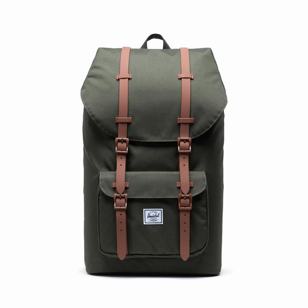 batoh na notebook Lil America Herschel Supply šedý