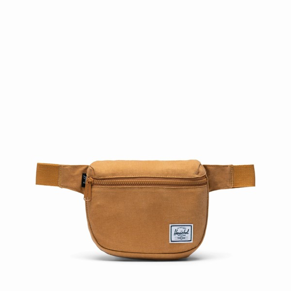 žlutá ledvinka Herschel Supply FIFTEEN Cotton Buckthorn Brown