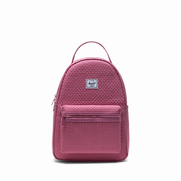 městský batoh Herschel Supply NOVA S WOVEN HEATHER ROSE