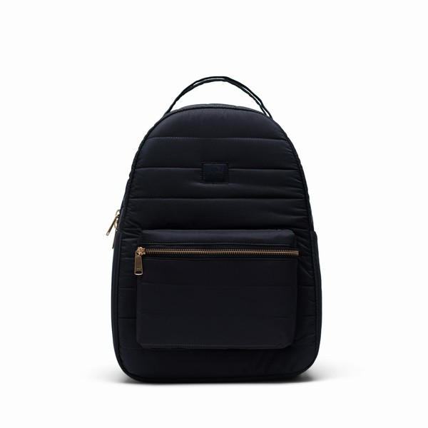 batoh na notebook černý Herschel Supply Nova MID-VOLUME QUILTED BLACK