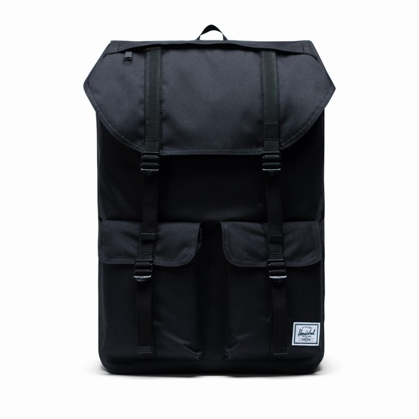 černý batoh na notebook Herschel Supply BUCKINGHAM BLACK
