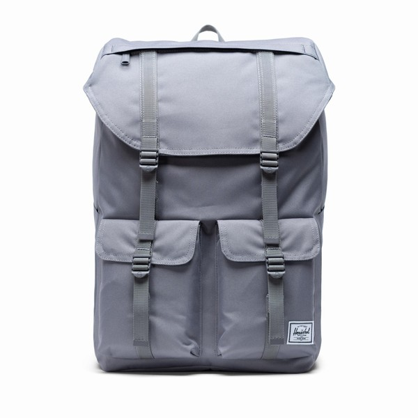 šedý batoh Herschel Supply Buckingham Grey