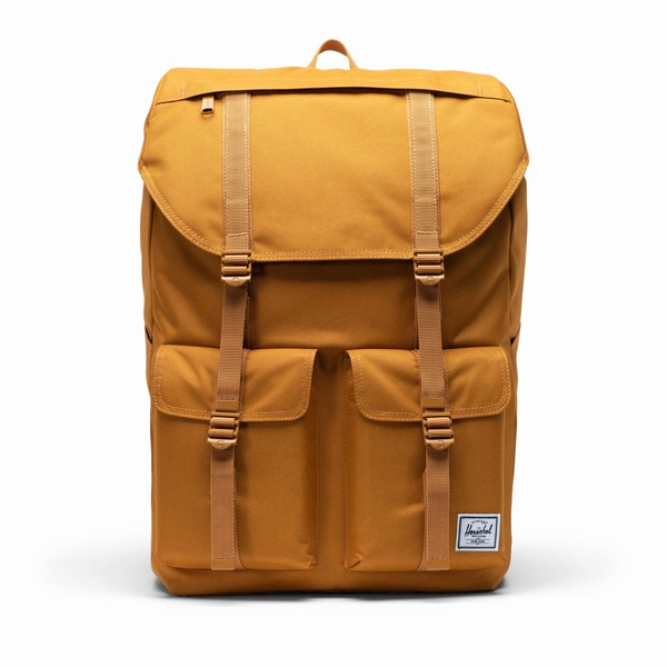 žlutý batoh Herschel Supply BUCKINGHAM BUCKTHORN BROWN
