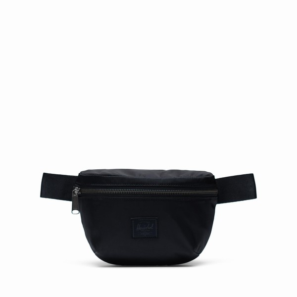 ledvinka černá Herschel Supply FOURTEEN SATIN BLACK