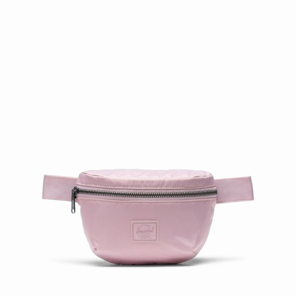 růžová ledvinka Herschel Supply FOURTEEN SATIN  PALEMAUVE