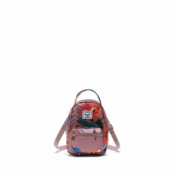 kabelka Herschel Supply NOVA CROSSBODY Summer Floral Rose