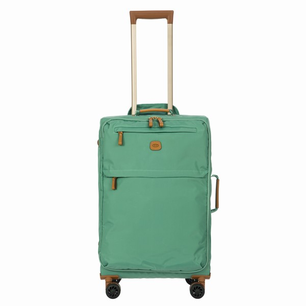 kufr Bric´s X-TRAVEL MEDIUM TROLLEY zelený