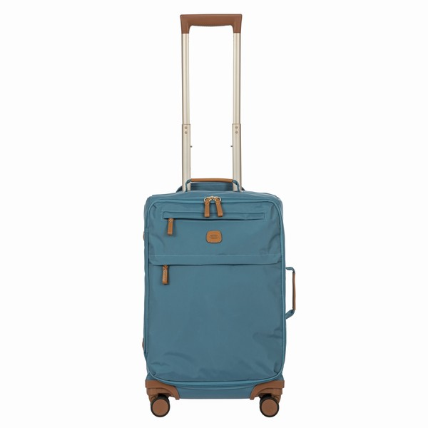 unisex kabinovka Bric's X-TRAVEL CARRY-ON TROLLEY světle modrá