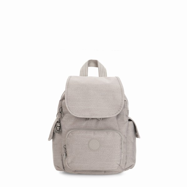 béžový batoh Kipling CITY PACK MINI Grey Beige Pep