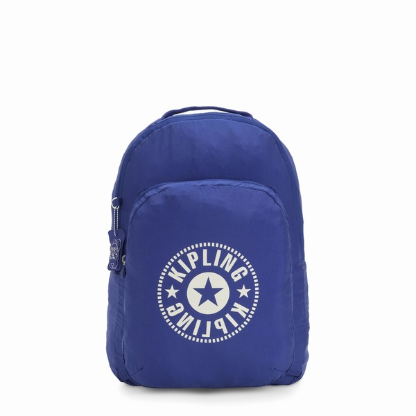 skladaci batoh Kipling BACKPACK Laserblue Light modrá