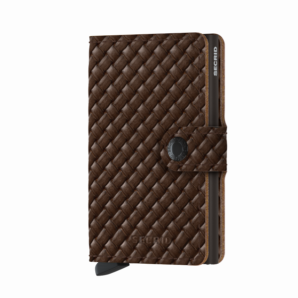 peněženka Secrid MINIWALLET Basket Brown